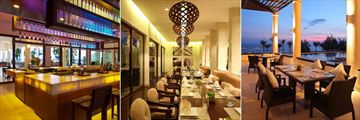 Princess D'Annam Resort & Spa, The Bar, The Dining Room and The Terrace
