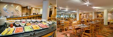 Protea Hotel Knysna Quays, Cafe du Passe Breakfast Buffet and Dining Area