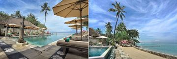 Puri Mas Boutique Resort & Spa, Infinity Pool and Beach