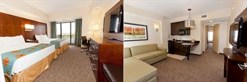 Ramada Plaza Resort & Suites International Drive, Double Queen Suite