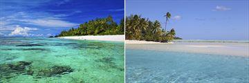 Rarotonga & Aitutaki island scenery