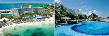 Riu Caribe, Aerial View Resort and Resort Pool