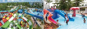 Riu Palace Bavaro, Splash Water World and Kids' Pool