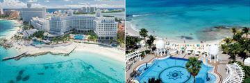 Riu Palace Las Americas, Aerial View of Resort and Pools