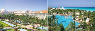 Riu Palace Riviera Maya, Aerial View of Resort and Pools
