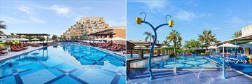 The main pool and kids pool at Rixos Bab Al Bahr