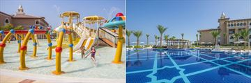 Rixos Saadiyat Island, Kids' Pool and Main Pool
