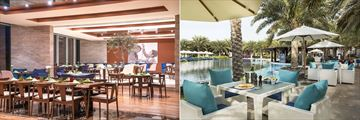 L'Olivio and Highlights Bar at Rixos The Palm Dubai Hotel & Suites