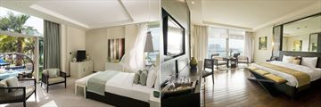 Wellness Room and Deluxe Room at Rixos The Palm Dubai Hotel & Suites