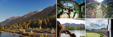 Experience the Rocky Mountaineer