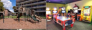 Playground and Arcade Games Room at Rosen Inn International
