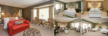 Various Luxury Rooms at Rosenhof Country House