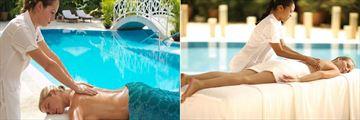 Outdoor Massage at Royal Hideaway Playacar