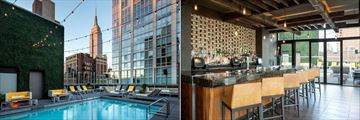 Royalton Park Avenue, Rooftop Pool and Pool Bar