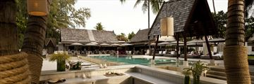 SALA Samui Resort & Spa, Main Pool and Beach Bar