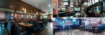 Sandman Hotel Victoria, Shark Club Bar & Grill