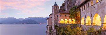 Santa Caterina del Sasso, Lake Maggiore