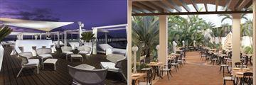 Sugar Reef Bar and World Cafe at Secrets Bahia Real Resort & Spa