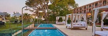 Balinese beds at Secrets Mallorca Villamil Resort