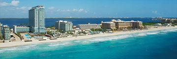 Secrets The Vine Cancun, Aerial View of Resort