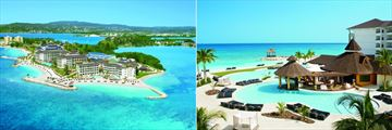 Secrets Wild Orchid Montego Bay, Resort Aerial View and Pool