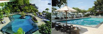 Shangri-La, Bangkok, Main Pool and Krungthep Wing Pool