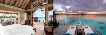 Water Villas at Shangri-La Villingili Resort