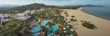 Shangri-La's Rasa Ria Resort & Spa, Aerial Views