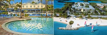 Sheraton Suites Key West, Pool and Resort with Beach Aerial Shot