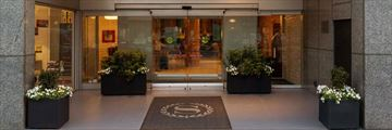 Hotel Entrance at Sheraton Tribeca New York Hotel