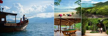 Six Senses Ninh Van Bay, Fishing in the Bay, Beach Picnic, Hiking Trail, Cycling and Pool Table