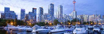Toronto skyline and harbour