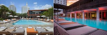 Hyde Beach Pool and Clyde Pool at SLS South Beach
