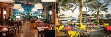 Sofitel Dubai Jumeirah Beach, Plantation Brasserie and Infini Pool Lounge