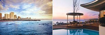 Southern Sun Elangeni, Beach and Pool