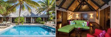St. Regis Bora Bora Resort, Reefside Garden Villa with Pool