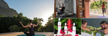 Stonefield Estate Villa Resort, Yoga, Fitness Room, Couples Massage and Spa Products
