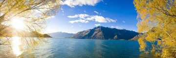 Stunning Lake Scenery in New Zealand