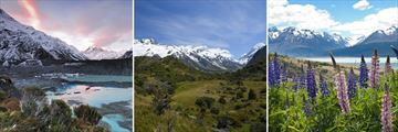 Stunning Scenery in Mount Cook National Park