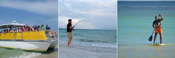 Sundial Beach Resort & Spa, Boat Excursions, Beach Fishing and Standup Paddle