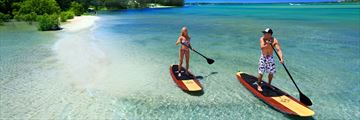 Paddleboarding in Queensland