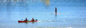 Water sports along Sunshine Coast