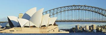 An iconic view of Sydney Opera House