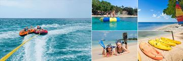 Tube Rides, Inflatable Trampoline, Sailing, Kayaking and Snorkeling at Tamarind by Elegant Hotels