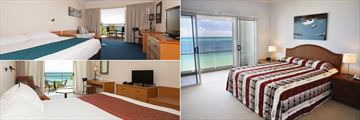 Deluxe Room, Deep Blue Holiday Apartment and Standard Room at Tangalooma Island Resort