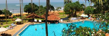 Tangerine Beach, Kalutara, Aerial View of Pool