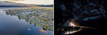 Te Anau Landscapes & Glow Worm Caves Tour