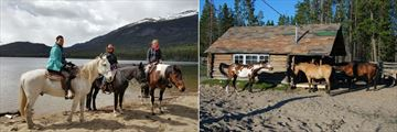 Horse Riding and Stables at Terra Nostra Guest Ranch