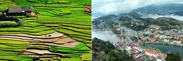 The beautiful landscapes of Sapa