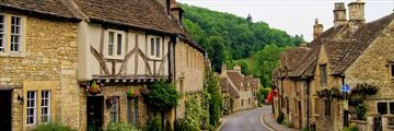 Quaint streets in the Cotswold